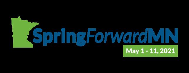 SpringForwardMN logo: May 1-11, 2021