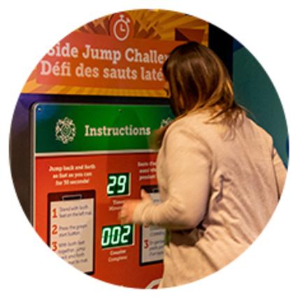 Perot Museum - Interactive display