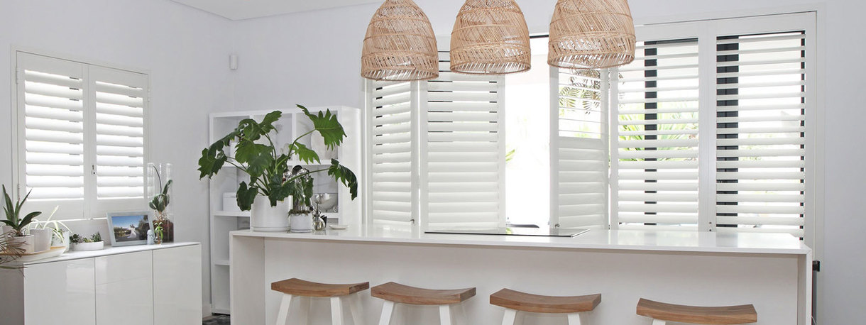 Image of white shutters