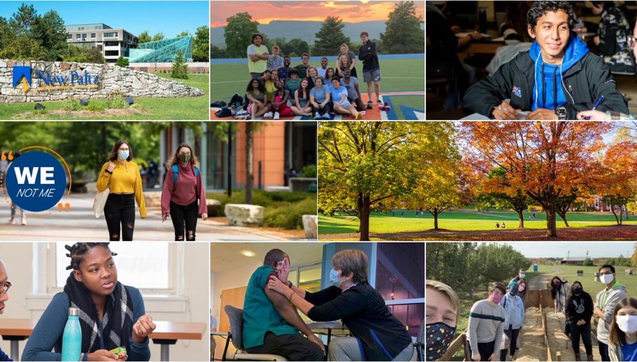 SUNY New Paltz is planning to provide a traditional, safe, in-person experience for students in fall 2021