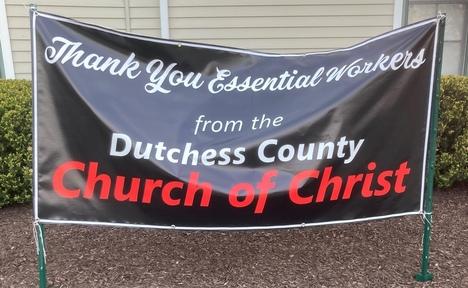 Banner from Dutchess Church of Christ
