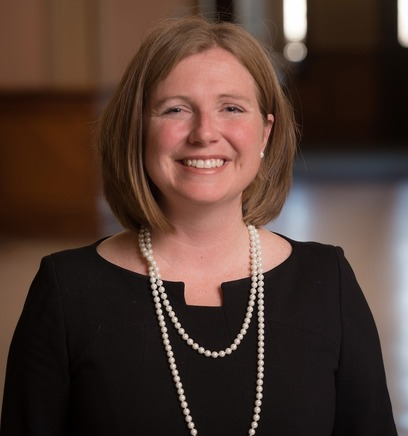 Photo of Erin Hoffman Harding, vice presiden of student affairs