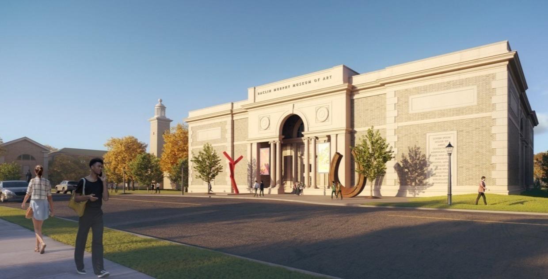 Artist's rendering of new Racline Murphy Museum.