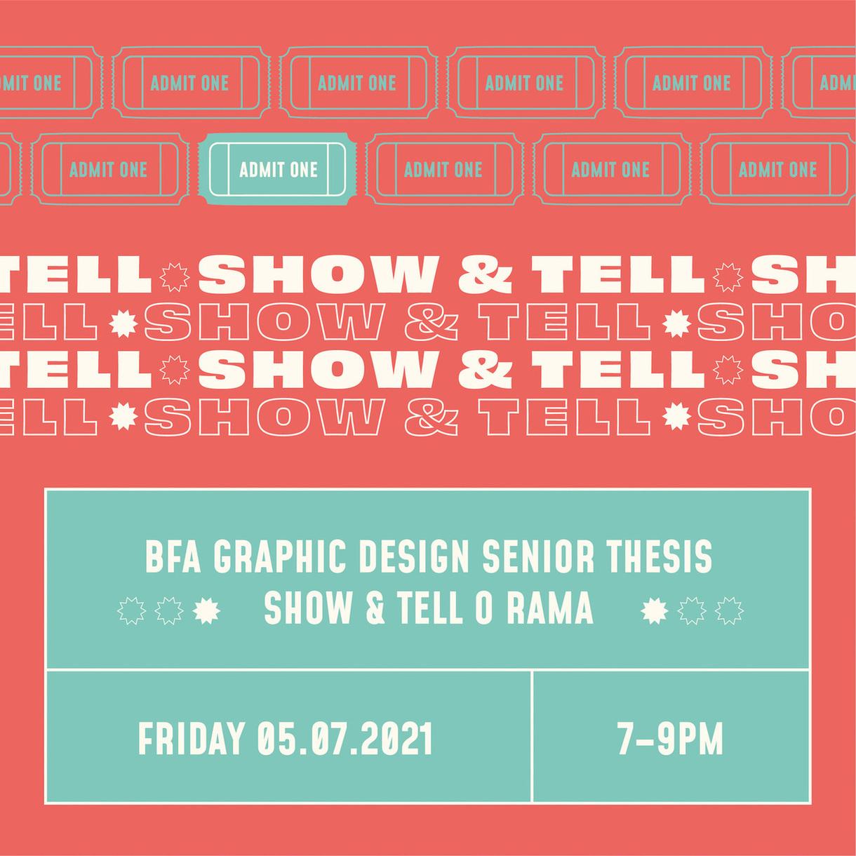 BFA Graphic Design Senior Thesis
