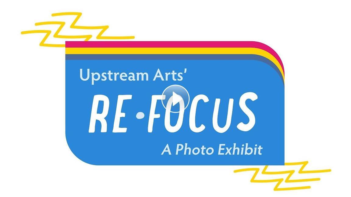 ReFocus A Photo Exhibit logo.