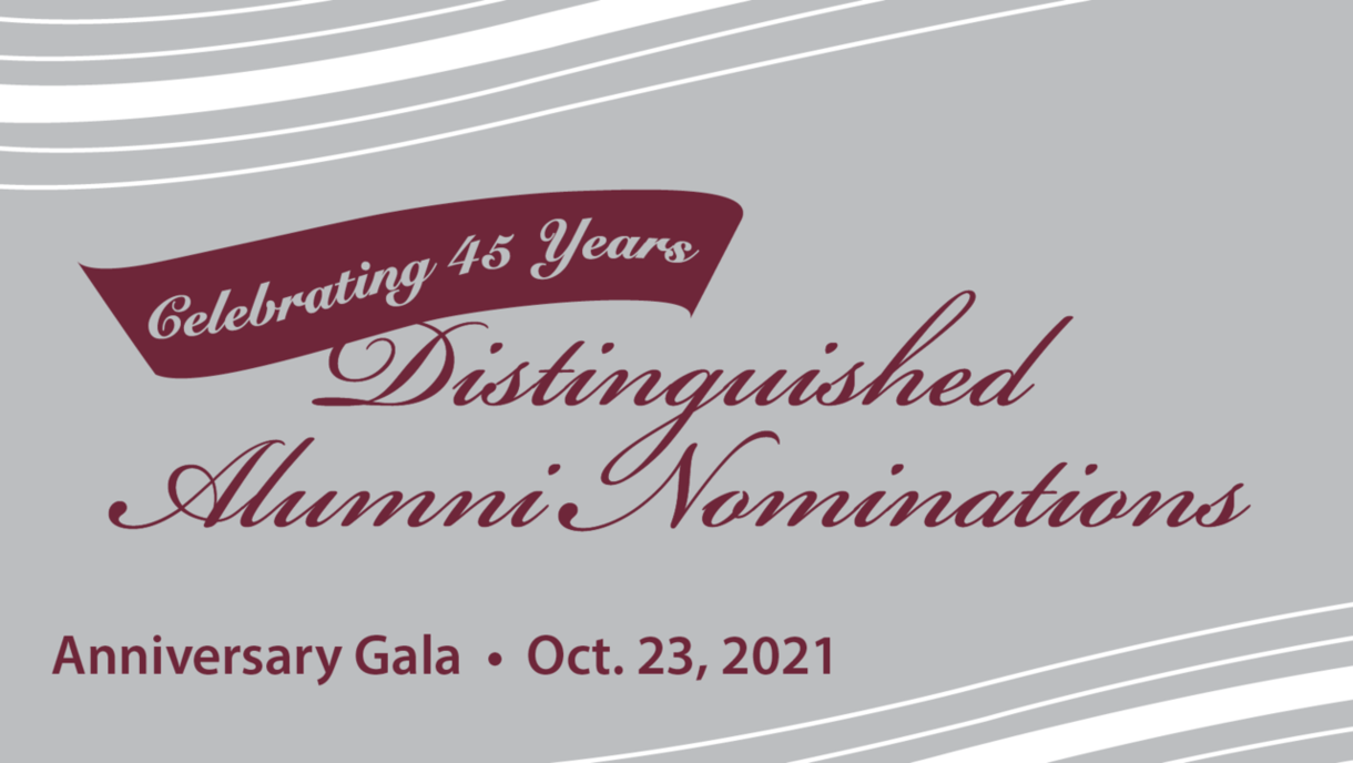 Nominate Bowen graduates for the 2021 Distinguished Alumni Awards