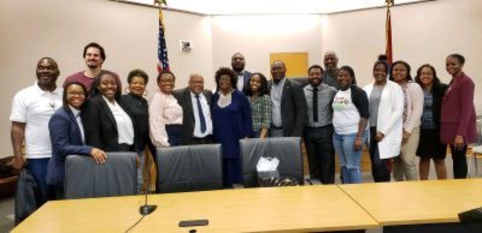 photo of BLSA members