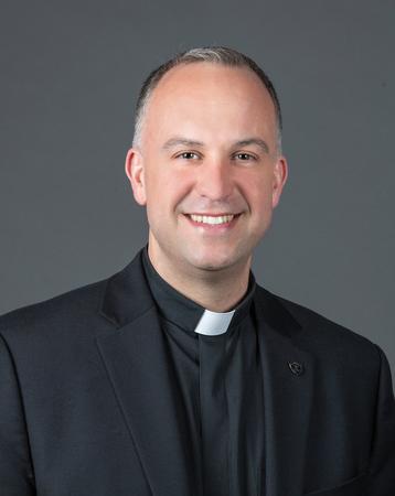Photo of Vice President Gerard Olinger, C.S.C.