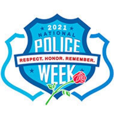logo for National Police Week, 2021