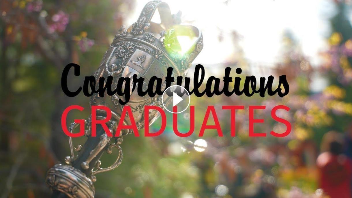 Congratulation, Class of 2021