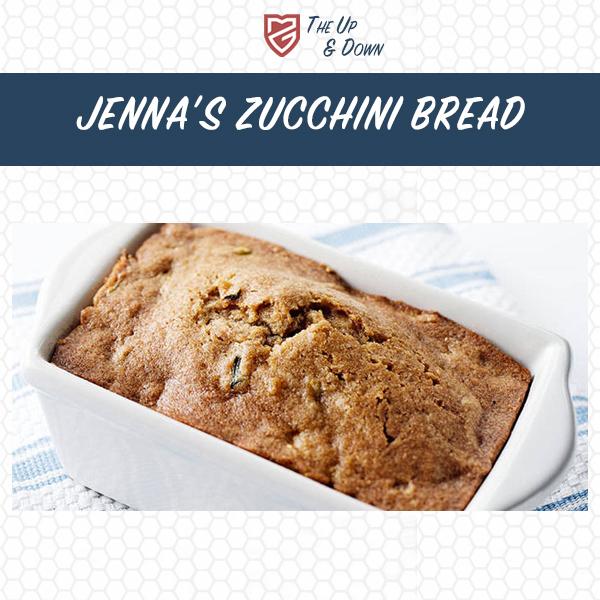 Jenna's Zucchini Bread