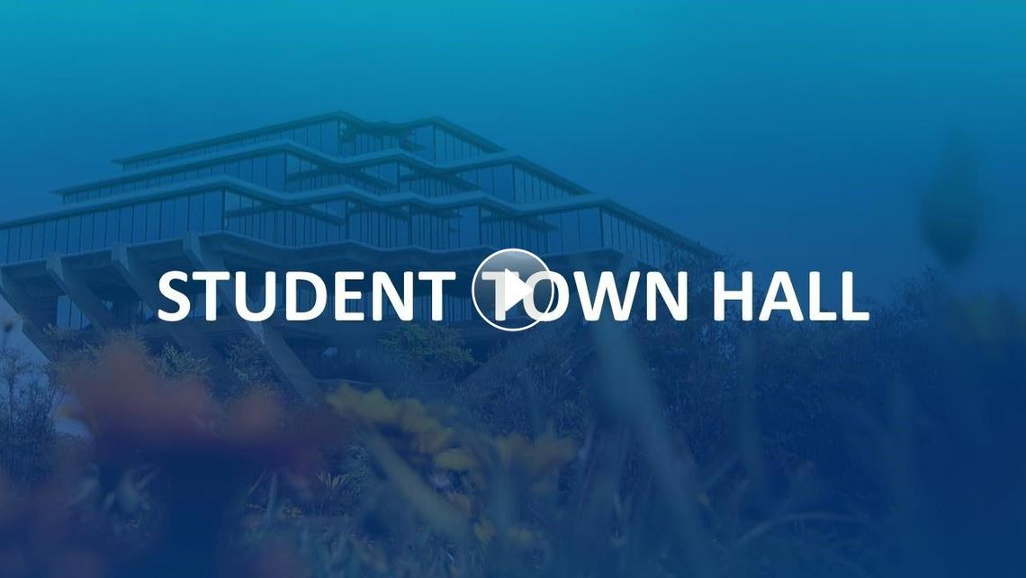Zoom video from recent Student Town Hall about the Return to Learn plan