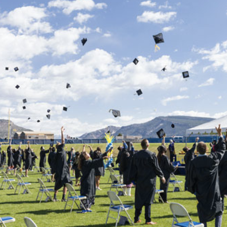 FLC in-person commencement