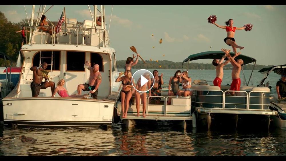 "DUSTIN LYNCH - ""TEQUILA ON A BOAT (FEAT. CHRIS LANE)"""