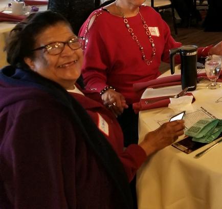 Betty Grazes from the Senior Companion Program