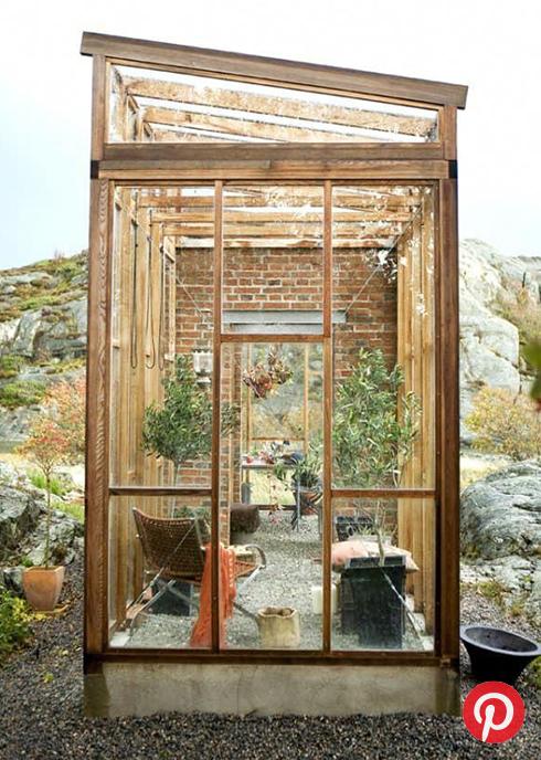 A tiny greenhouse