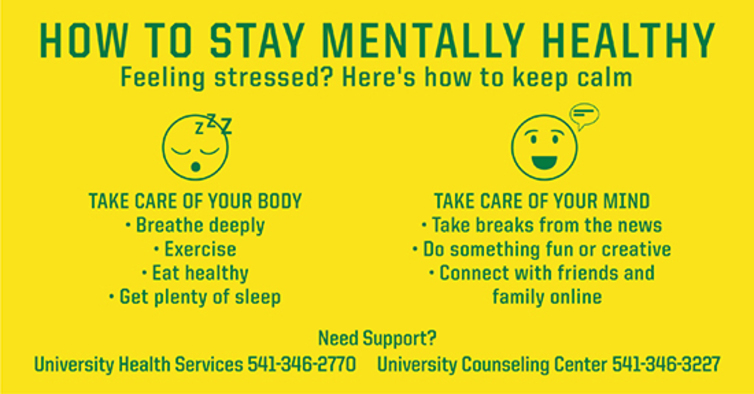 How to stay mentally healthy