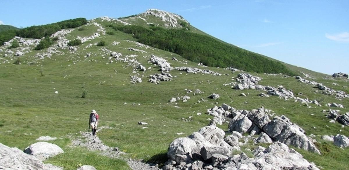 Premuzic Trail in the Velebit Mountains, Northern Velebit National Park.