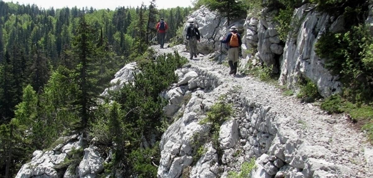 Mountain Hiking Holidays on the Premuzic Trail