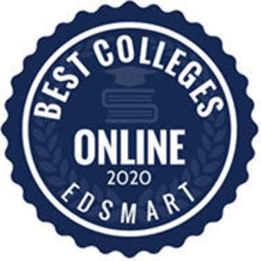 EDsmart's Best Online Colleges 2020 seal