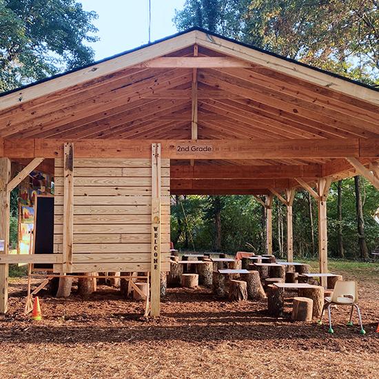 Linden Waldorf Outdoor Pavilions