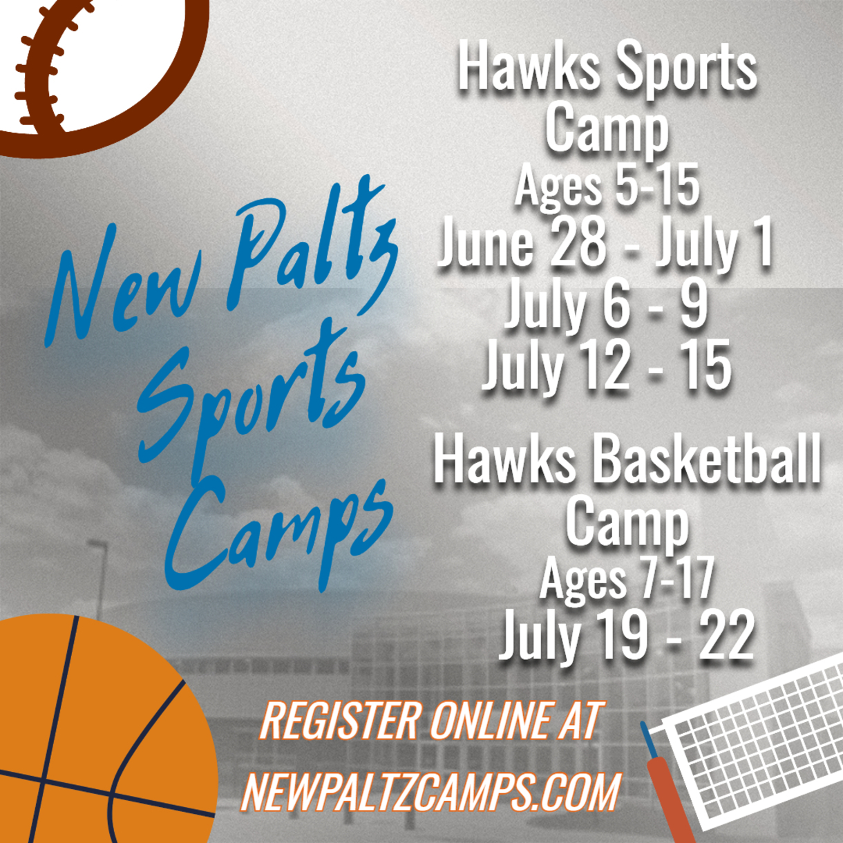 SUNY New Paltz Camps