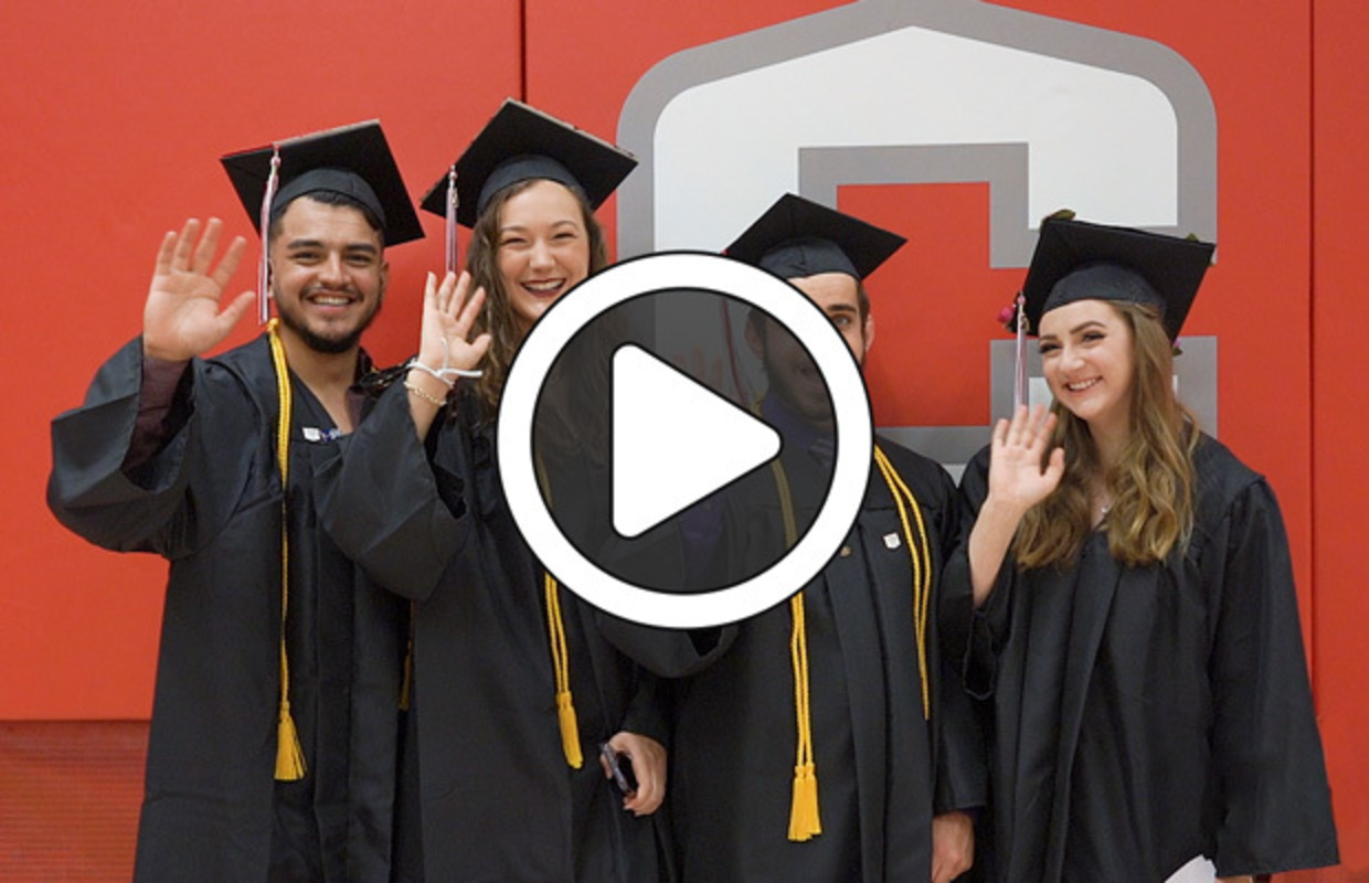 Video highlights from Central College 2021 Commencement ceremony