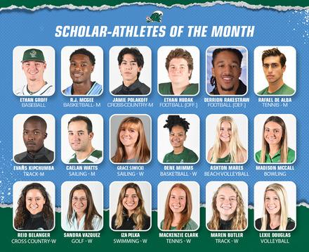 Green Wave Athletics Scholar-Athletes