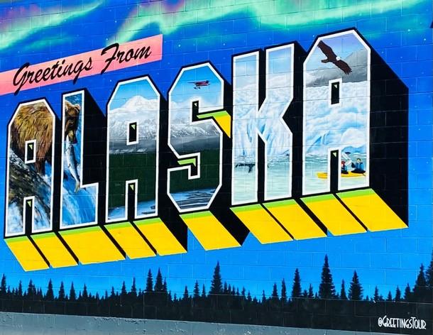 Greetings from Alaska