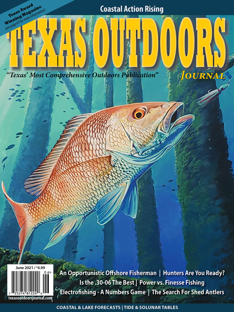 Texas Outdoors Journal cover June 2021