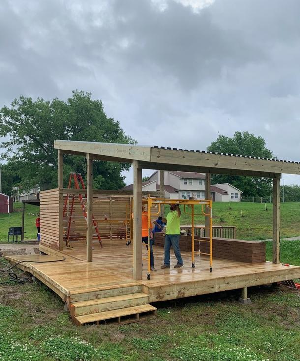 Veterans Community Project Pavilion