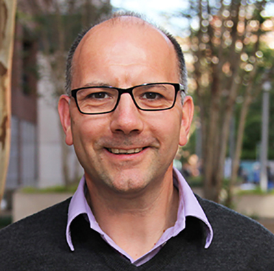 Headshot of Gregor Neuert.