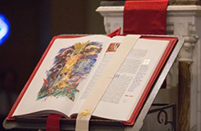 Photo: Saint Johns bible