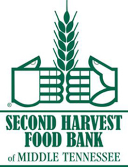 Logo of the Second Harvest Food Bank of Middle Tennessee.
