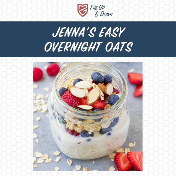 Jenna's Easy Overnight Oats