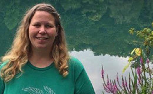 lakeside portrait of Jennifer Demchak
