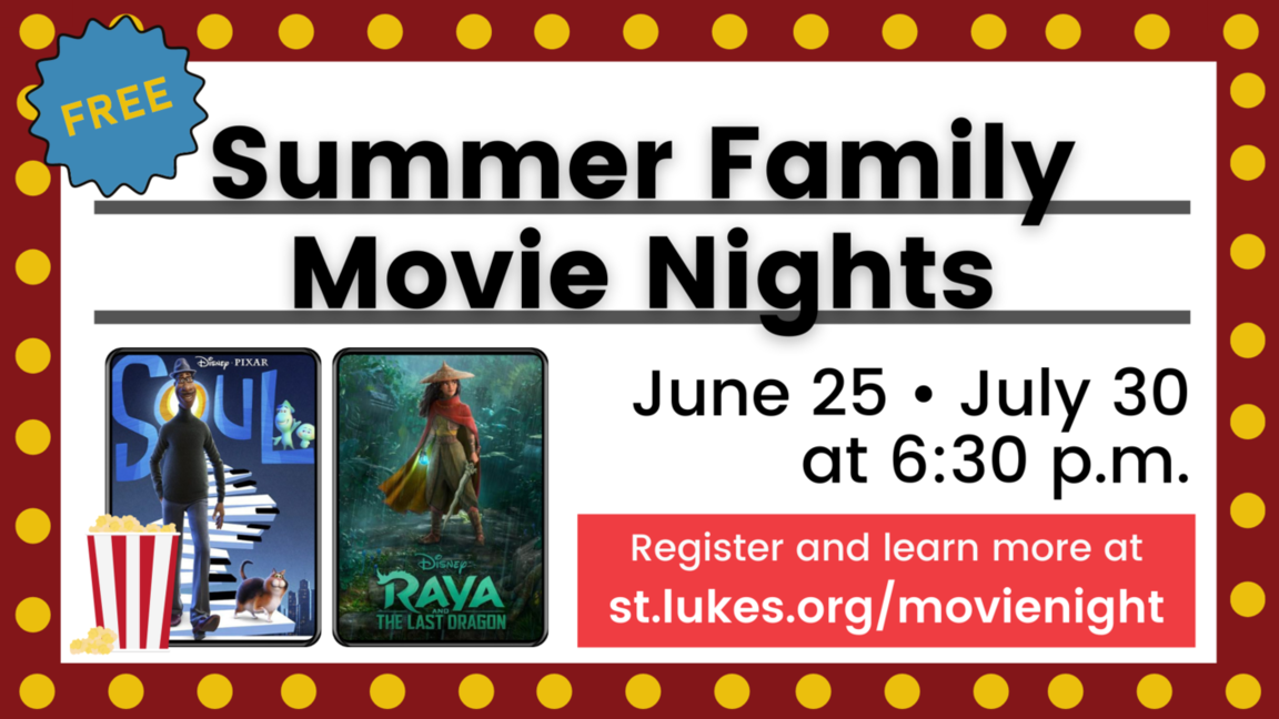 Summer movie night webpage link