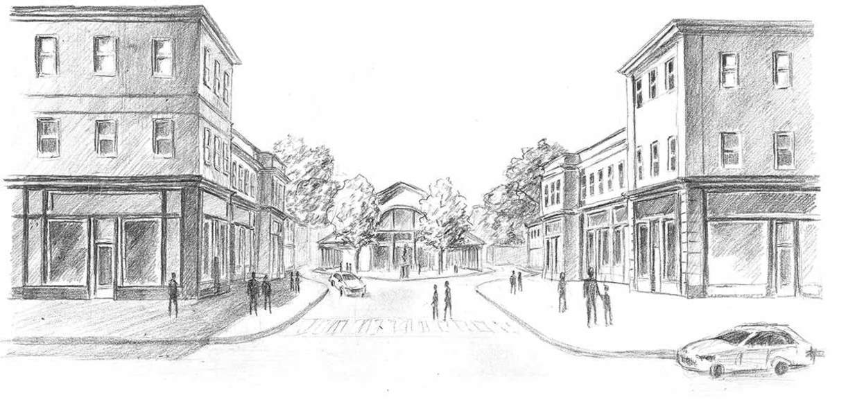 Photo of William Street in South Bend.