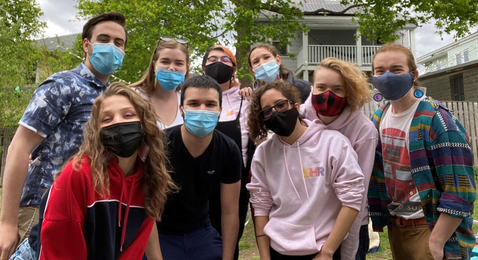 Sex Health Representatives (9 masked students)