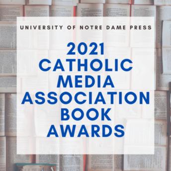 Graphic that says 2021 Catholic Media Association Book Awards