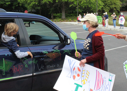 Blakely car parade