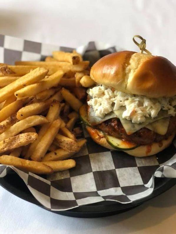 Nashville Hot Burger