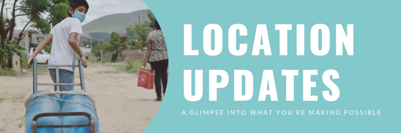 Location Upates: A Glimpse Into What You're Making Possible