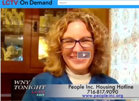 An image of Sarah Bohnstadt on LCTV