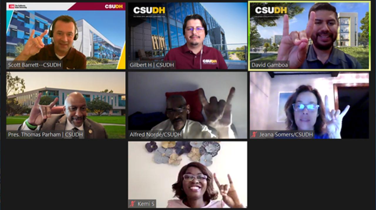 Alumni joining CSU New York Virtual Reception