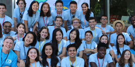 Students with the International Center