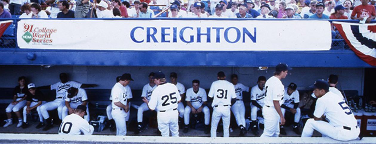 Photo: Creighton CWS team