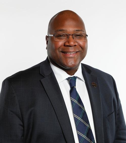 Photo of Mario Morris, deputy athletics director of business operations