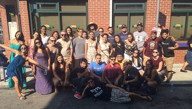Students with the Latino Center