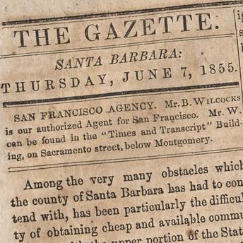 Photo of the June 7, 1855 Gazette